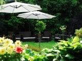 Ogród przy pensjonacie